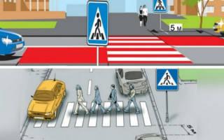 Можно ли ставить машину после пешеходного перехода