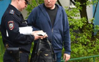Порядок проверки документов сотрудниками полиции
