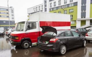 Можно ли парковать грузовые автомобили во дворе
