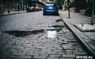Можно ли ездить по тротуару на машине