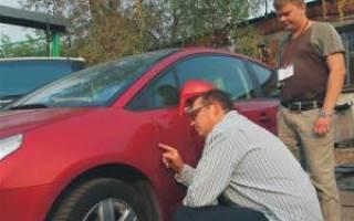 Как проверить качество покраски автомобиля после ремонта